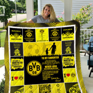 Borussia Dortmund – TO MY DAUGHTER – LOVE DAD Quilt