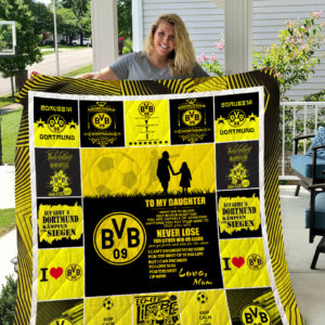 Borussia Dortmund – TO MY DAUGHTER – LOVE MOM Quilt