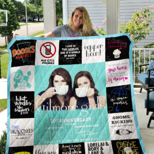 Gilmore Girls Quilt Blanket 01635