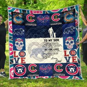 Chicago Cubs Family Quilt