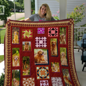 Dog-Blanket Quilt-Golden Retriever Edition 09122019
