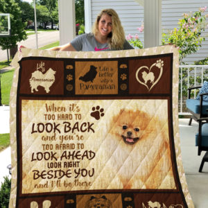 Dog-Blanket Quilt-Pomeranian Edition 09142019