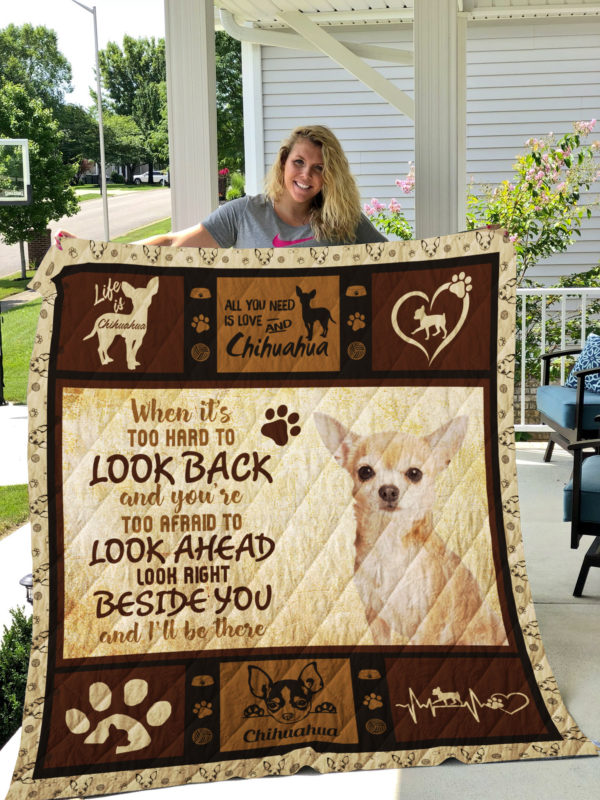 Dog-Blanket Quilt-Chihuahua Edition 09142019