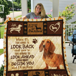 Dog-Blanket Quilt-Dachshund Edition 09142019