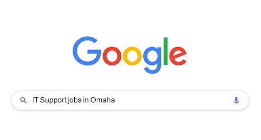 """Search """"work from home jobs"""" on Google"""