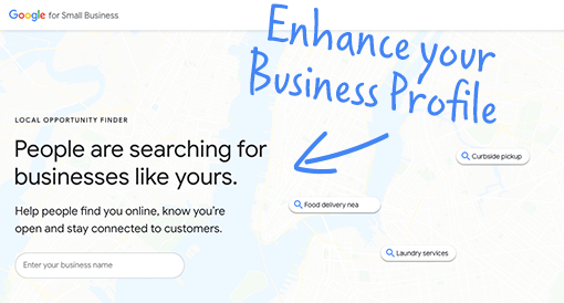 Enhance your Business Profile on Google