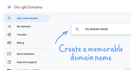 Create a memorable URL, email address and website