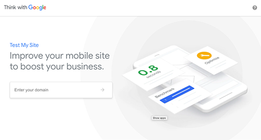 Get tips to improve your site's performance