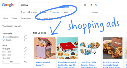 Show your products in free product listings on the Google Shopping