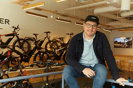 Chris Nolte, Founder, Propel Bikes U.S. Army Veteran Brooklyn, NY