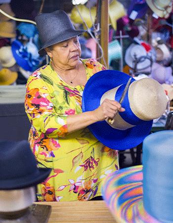 Georgiette Morgan-Thomas, Founder, American Hats, Philadelphia, PA