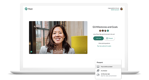 Secure video meetings for teams and businesses
