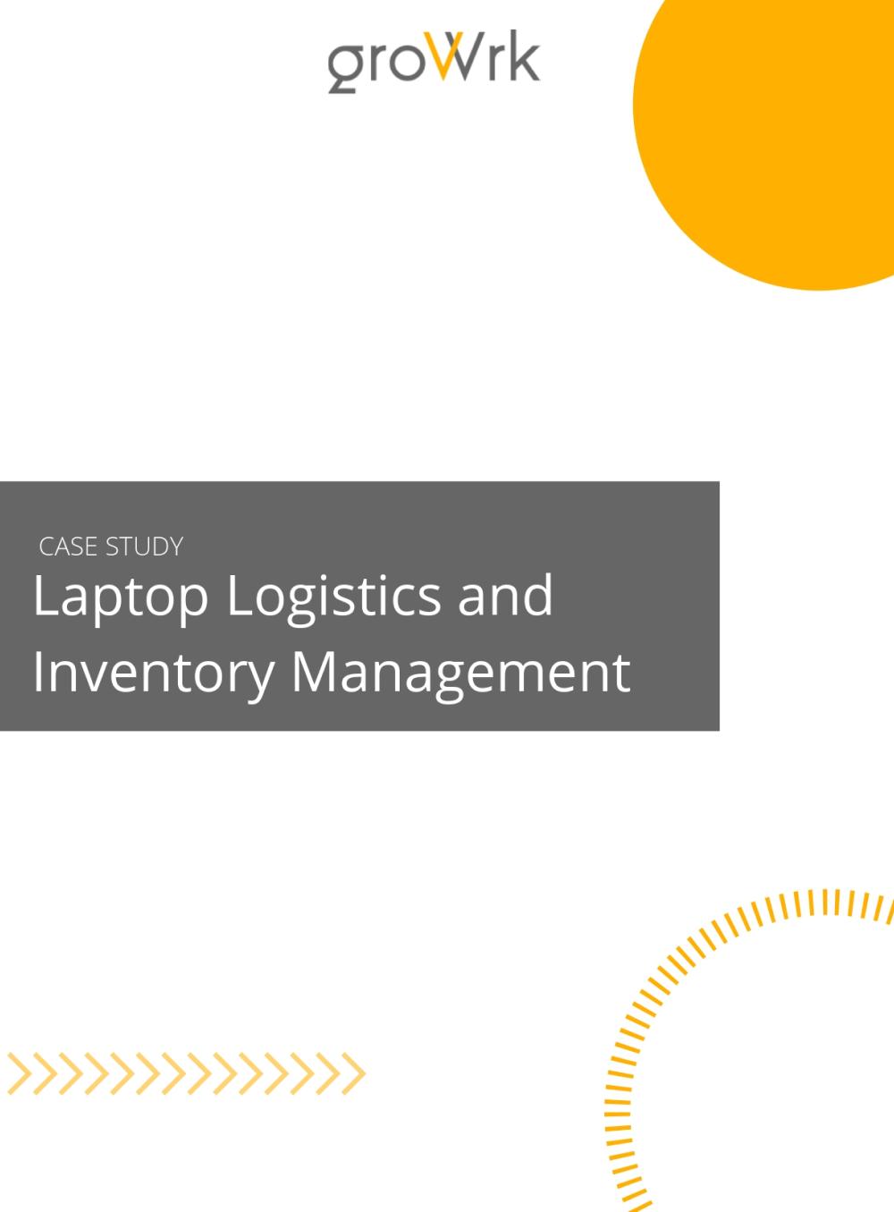 Laptop Logistics and Inventory Management