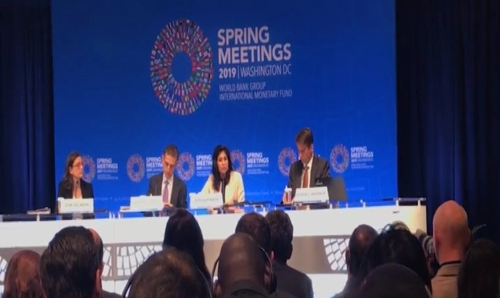 Gambia delegation takes part in IMF/world bank spring