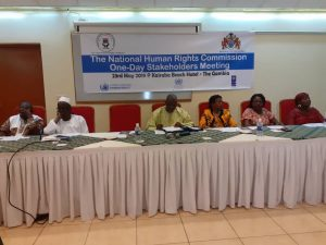 THE NATIONAL HUMAN RIGHTS COMMISSION ORGANISES A DAYLONG MEETING