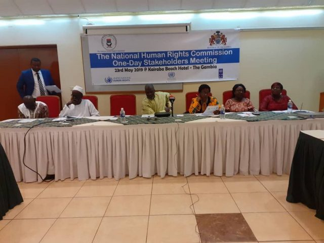 Parliamentarians and the National Human Rights Commission