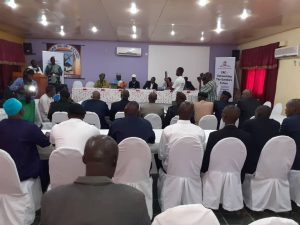 CRC dialogue with the security sector