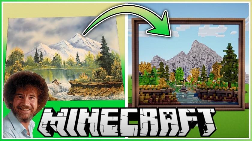 youtuber-pretvoril-obraz-boba-rosse-v-minecraftu