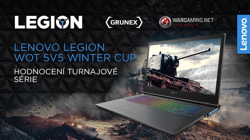 Hodnocení turnajové série Lenovo Legion