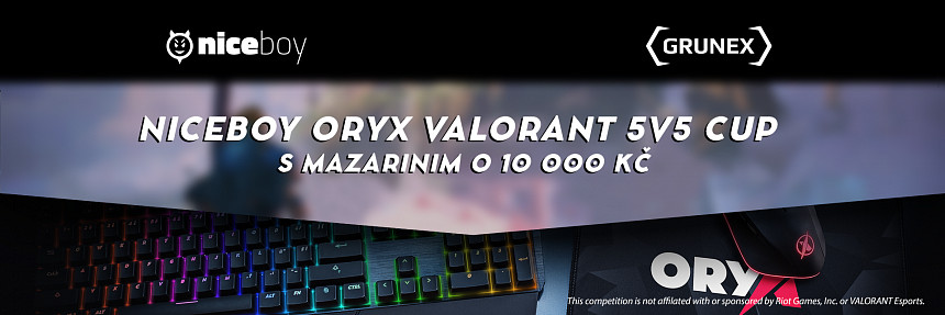 Niceboy ORYX | Valorant 5v5 Cup #2 | Play-off second chance