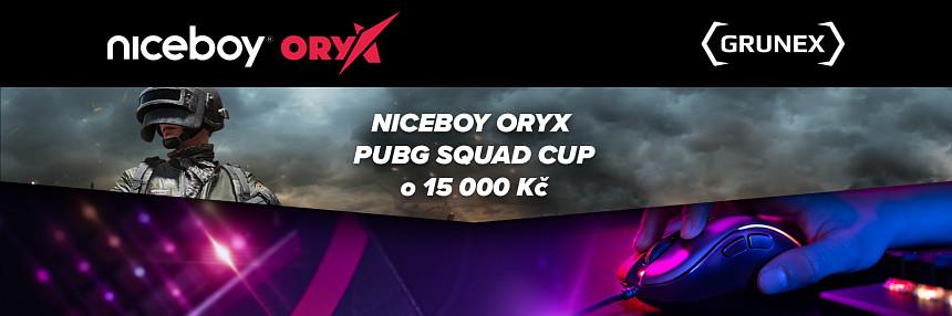 Niceboy ORYX | PUBG Squad Cup | Kvalifikace #1