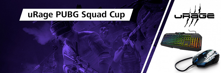 uRage | PUBG Squad Cup  | Kvalifikace #1