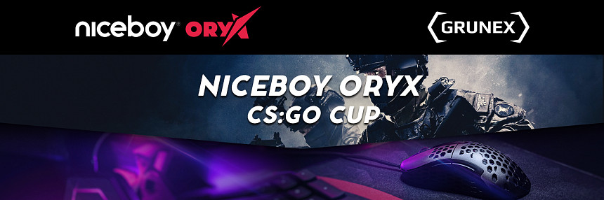 Niceboy ORYX | CS:GO 5v5 Cup | Kvalifikace #2