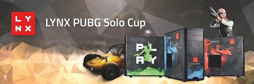 LYNX | PUBG Solo Cup - 27. 1. 2018