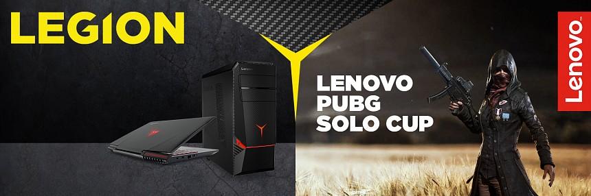 Lenovo | PUBG Solo Cup - 3. 3. 2018