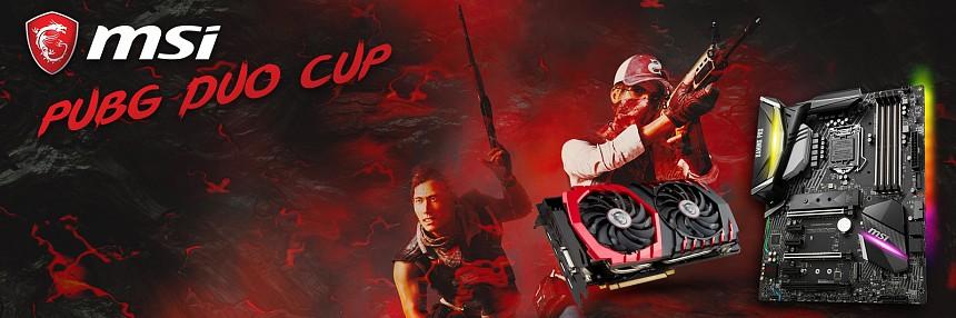 MSI   PUBG Duo Cup - 24. 3. 2018