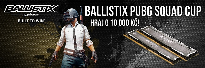 Ballistix | PUBG Squad Cup | Kvalifikace