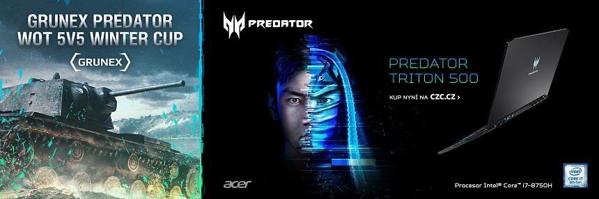 Predator Grunex WoT 5v5 Winter Cup | Kvalifikace #2