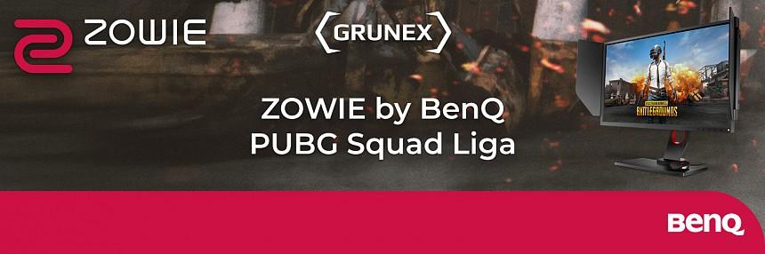 ZOWIE by BenQ PUBG Squad liga | Finále Kvalifikace #4