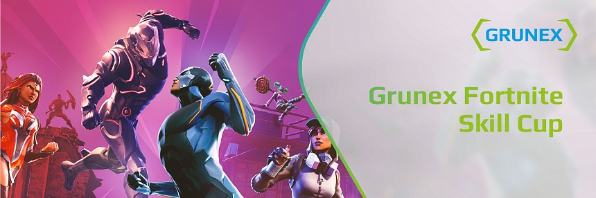 Grunex Fortnite Battle Royal Skill Cup #4