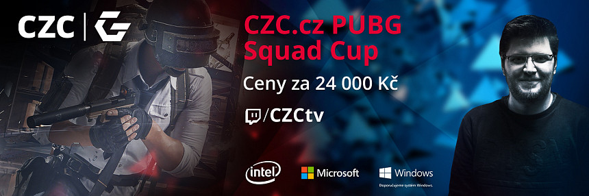 CZC.cz | PUBG Squad Cup | Grand Finále
