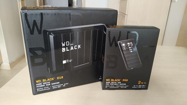 Western Digital Black recenze D10 herní externí disk