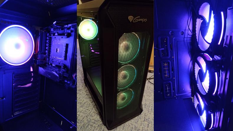 PC case skříň Genesis IRID 505 RGB