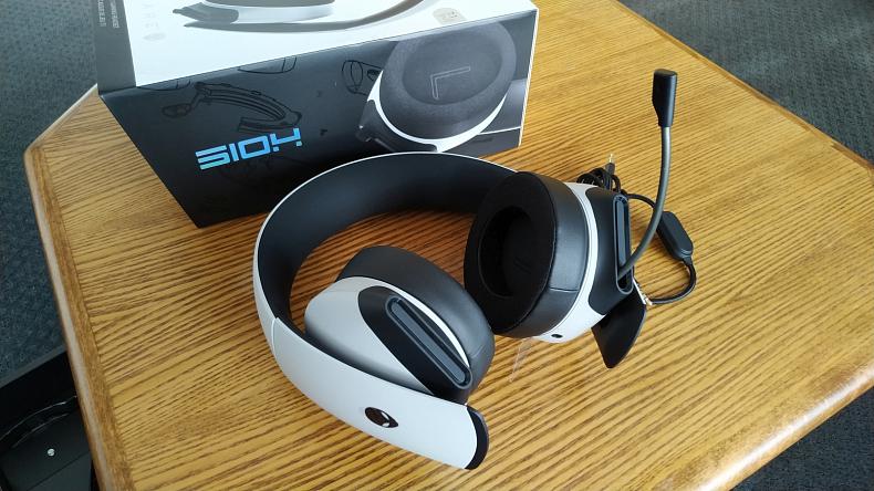 Alienware sluchátka pro hráče
