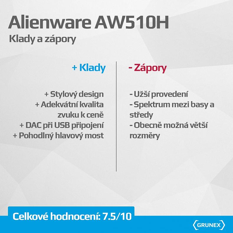 Alienware AW510H sluchátka drátová
