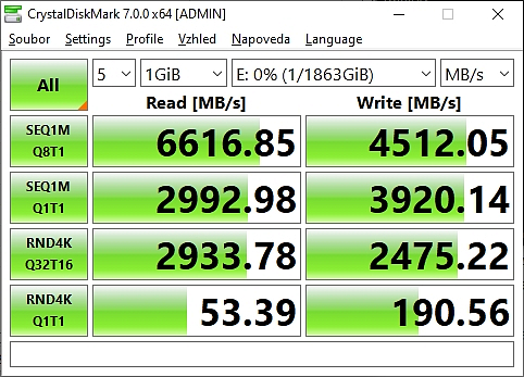 Recenze RGB SSD úložiště WD_BLACK