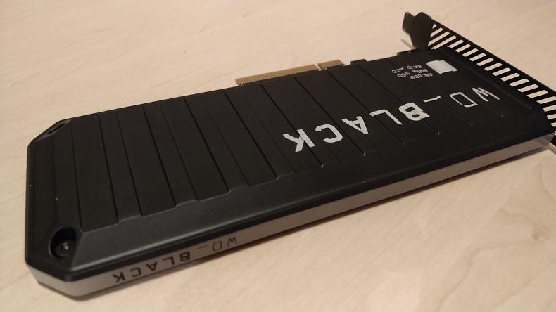 WD Black recenze SSD PCIe