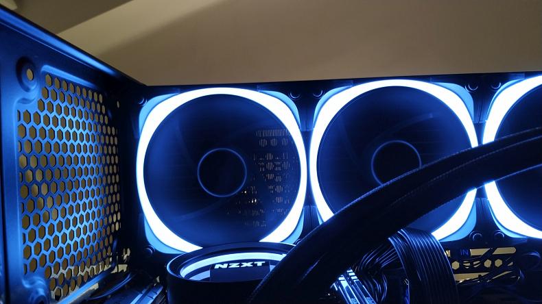 NZXT Kraken X73 RGB vodní chlazení výkon