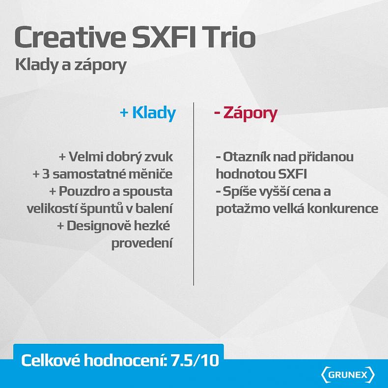 Recenze Creative SXFI Trio