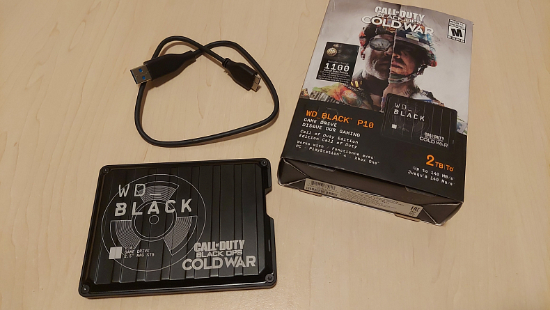 Recenze WD_BLACK Call of Duty