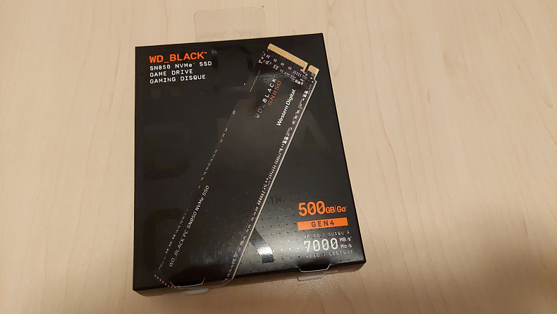 Recenze WD_BLACK SN850