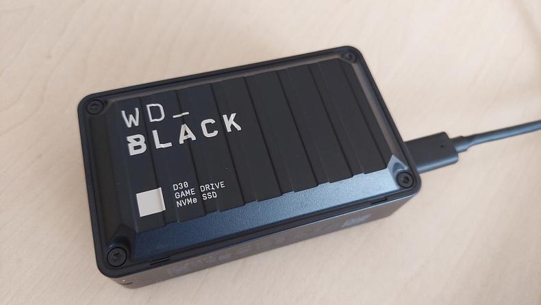 Western Digital externí SSD D30 recenze