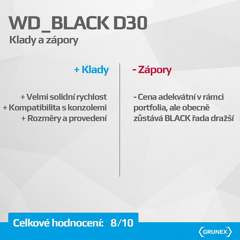 WD_BLACK recenze D30
