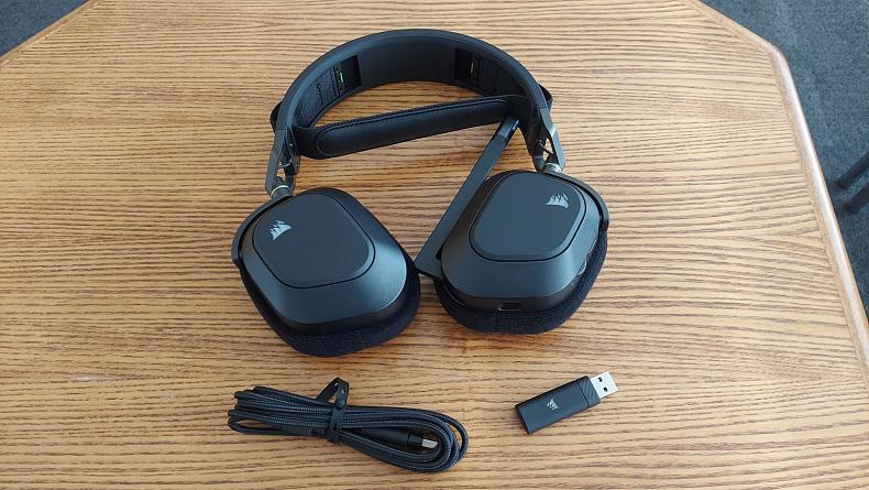 Zkušenosti sluchátka Corsair HS80 RGB