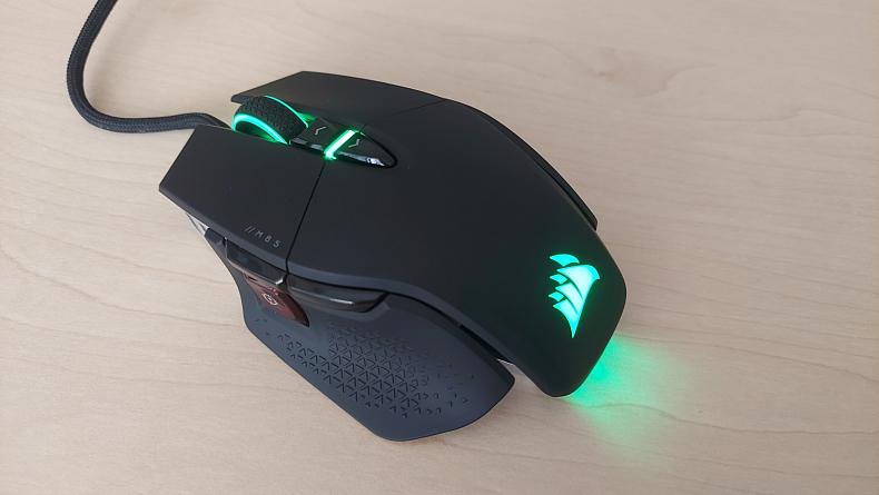Corsair FPS myš recenze M65 RGB Ultra