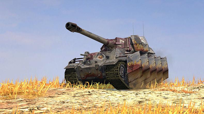 Těžký tank, VII. úroveň, hybridní národ - Vulcan.
